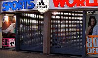 commercial roller shutters.