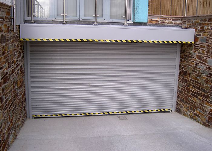 Screenguard garage door roller shutter.